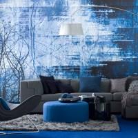 Interesting Blue Color Schemes For Living Room