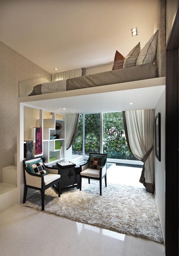 Most Amazing Loft Bedroom Designs Interiorholic Com