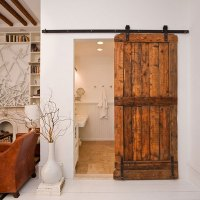 Sliding Barn Doors In Interior Design | InteriorHolic.com