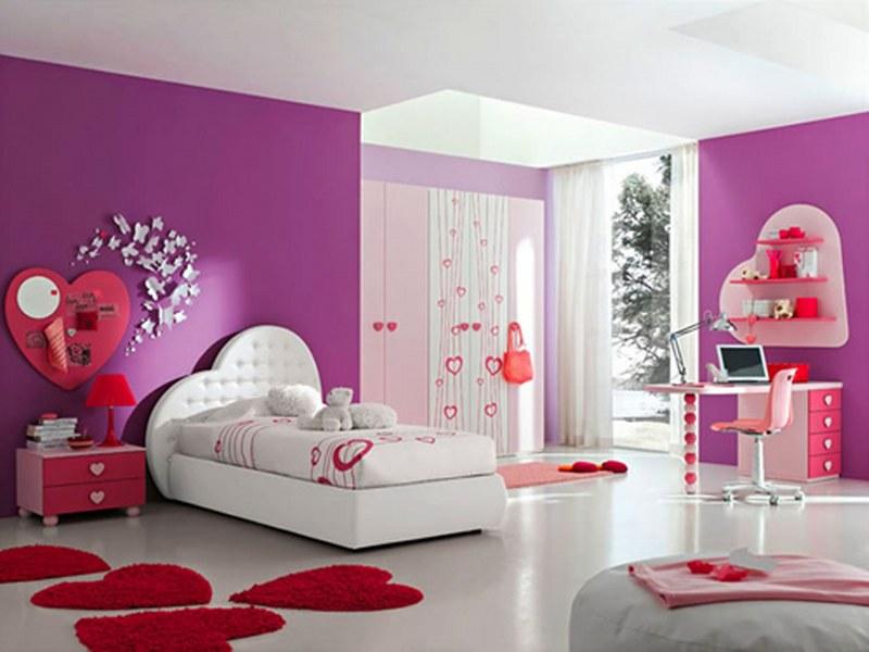 Cute Girls Bedroom Furniture  Interior Design Ideas