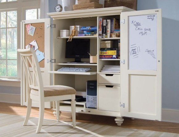 space saving home office idea Space Saving Home Offices | Interior design ideas
