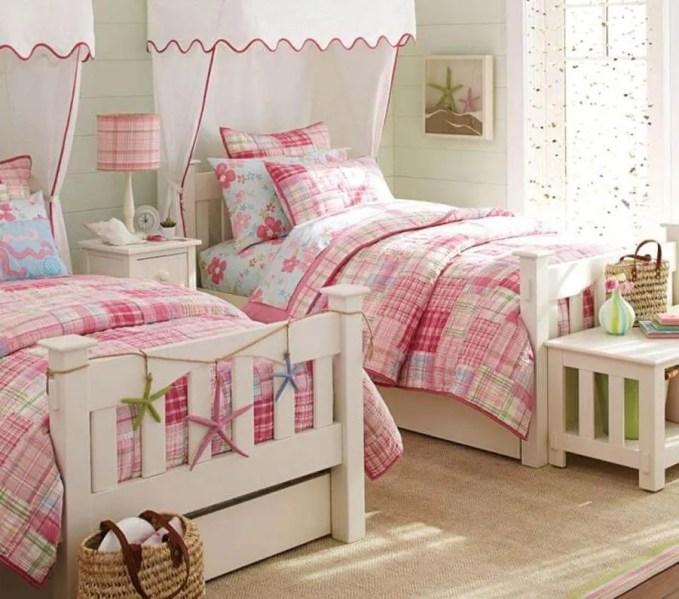 Charming Shared Girl's Bedroom