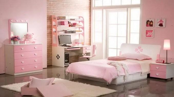 Fancy Pink Girl's Bedroom