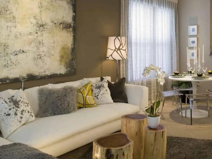 Light Brown Living Room