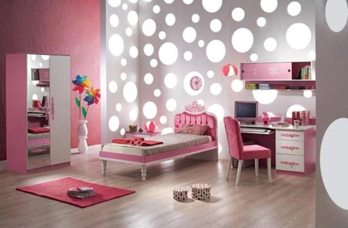 Trendy Girl's Bedroom