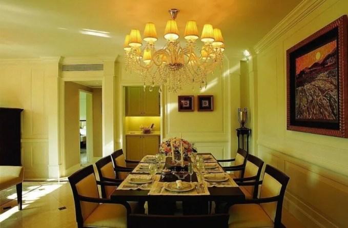 Yellow Dining Room
