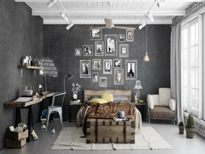 3-Industrial Bedrooms Interior Design