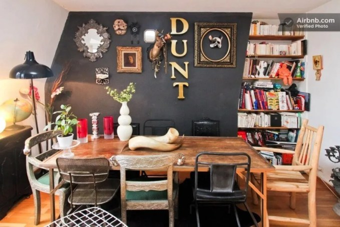Artistic Eclectic Dining Room