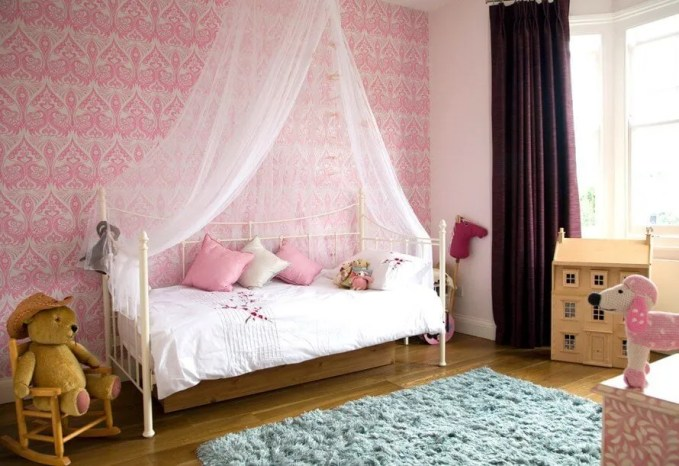 Charming Pink Bedroom