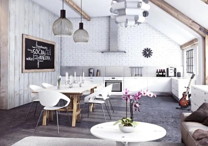 Fancy Industiral Kitchen