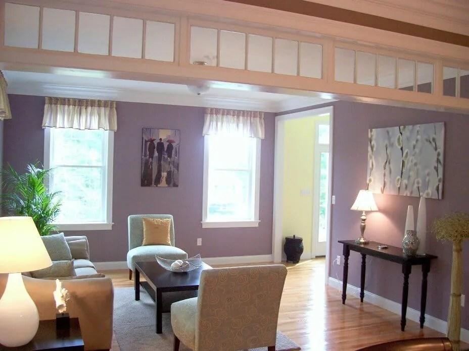 10 Chic Purple Living Room Interior Design Ideas  https