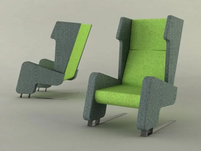 Phil Cater Wingback chair