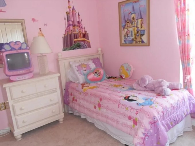 Princess Inspired Pink Bedroom