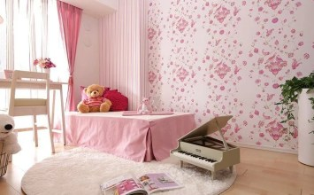 15 Stylish Pink Girl's Bedroom Interior Design Ideas