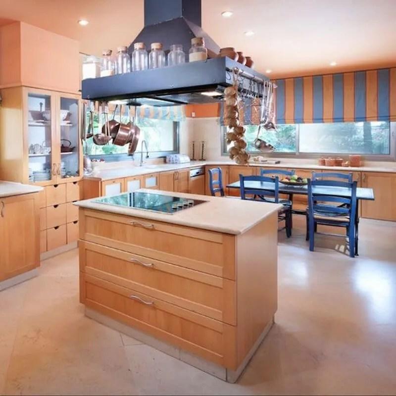 10 beautiful coral peach interior design ideas https for Peach kitchen ideas