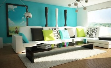 10 Interesting Colorful Living Room Interior Design Ideas