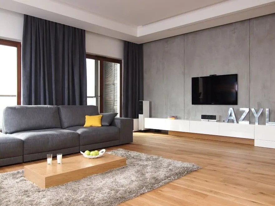 10 Modern Grey Living Room Interior Design Ideas