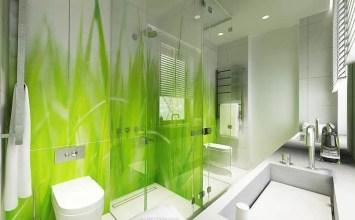 10 Cheery Green Bathroom Interior Design Ideas