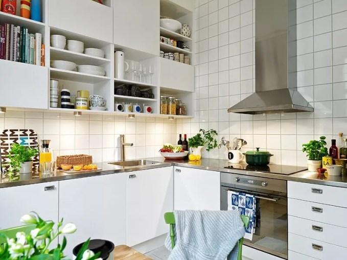 Sleek Scandianvian Kitchen
