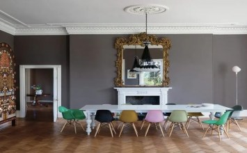 10 Incredible Interior Design Ideas with Eiffel Chairs