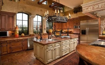 10 Amazing Mediterranean Kitchen Interior Design Ideas