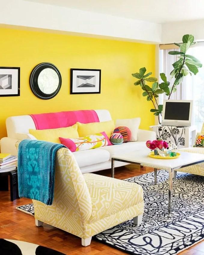 vibrant-yellow-living-room