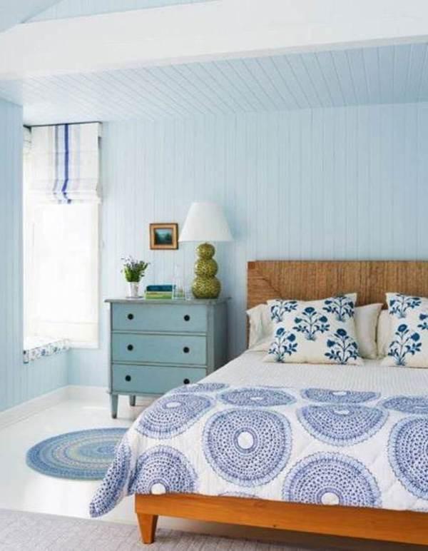 Light Blue Walls Bedroom Decorating Ideas