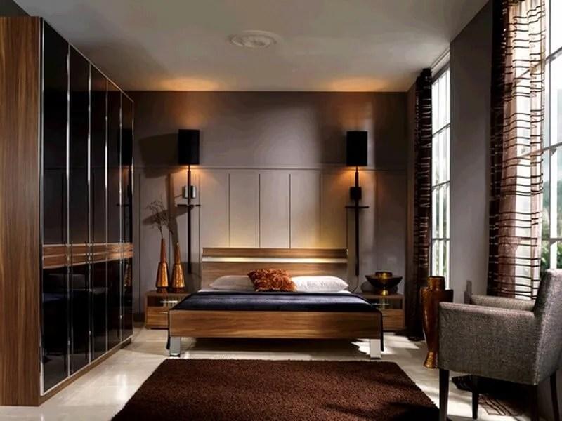 10 Chocolate Brown Bedroom Interior Design Ideas - https ...