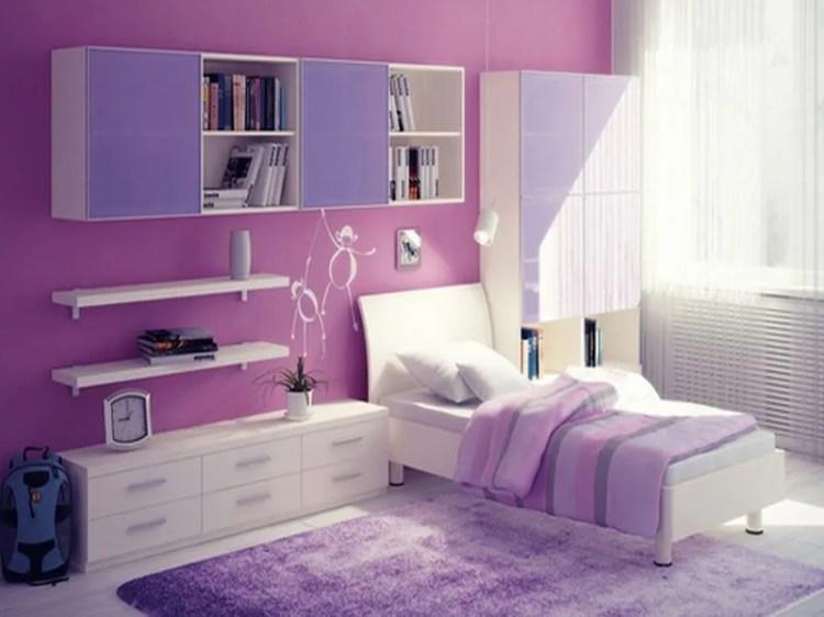10 Lovely Violet Girl S Bedroom Interior Design Ideas Interior Idea