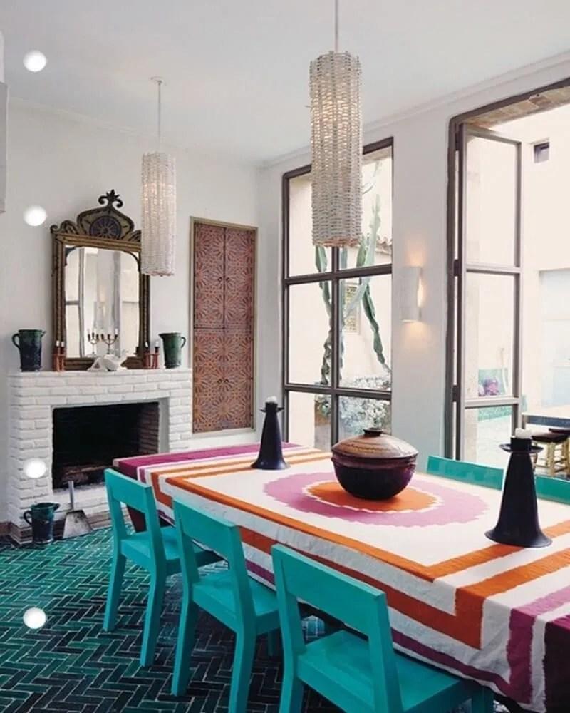 10 exotic moroccan inspired dining room interior design ideas