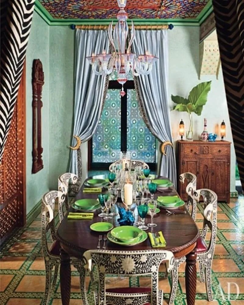 10 exotic moroccan inspired dining room interior design ideas