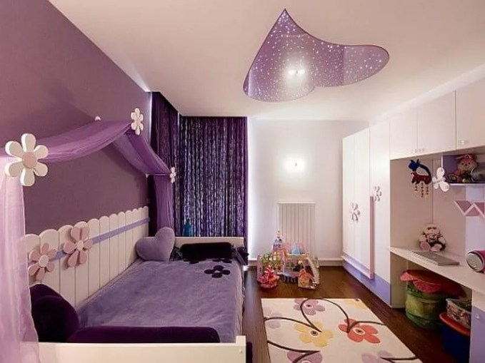 purple-and-pink-teenage-girls-room