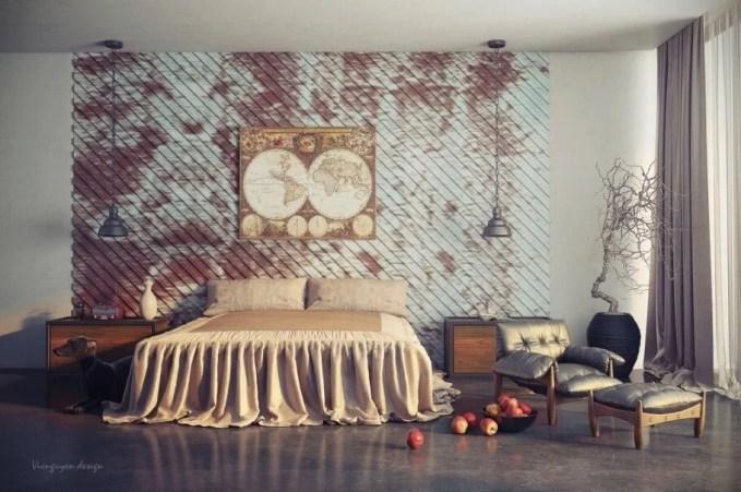 Chic Eclectic Bedroom