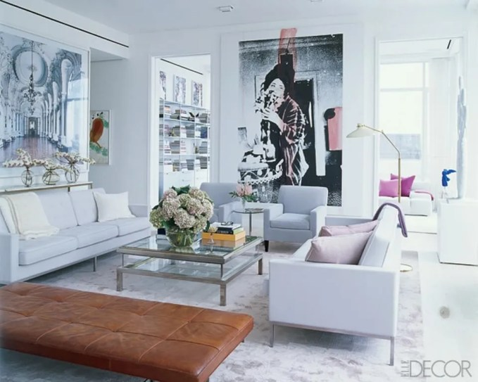 Classy Pop Art Living Room