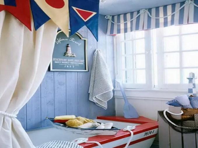 Fun Beach Inspired Bathroom