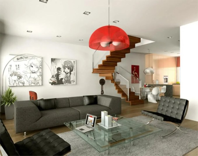 Interesting Pop Art Living Room