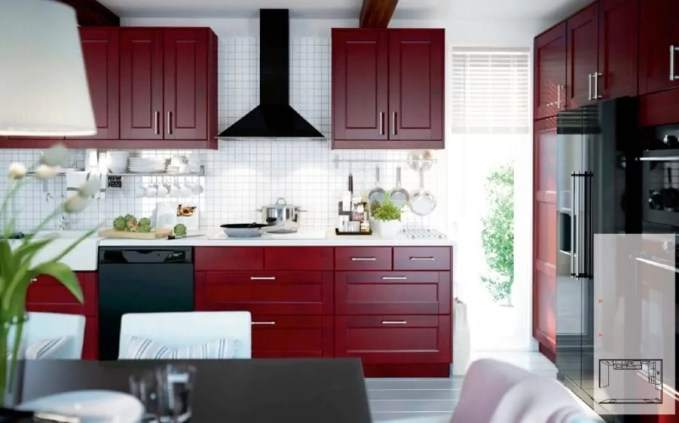Contemporary Ikea Kitchen