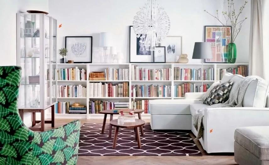 10 New and Fresh IKEA Living Room Interior Design Ideas  Interior Idea