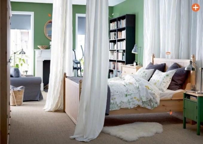 Green Ikea Bedroom
