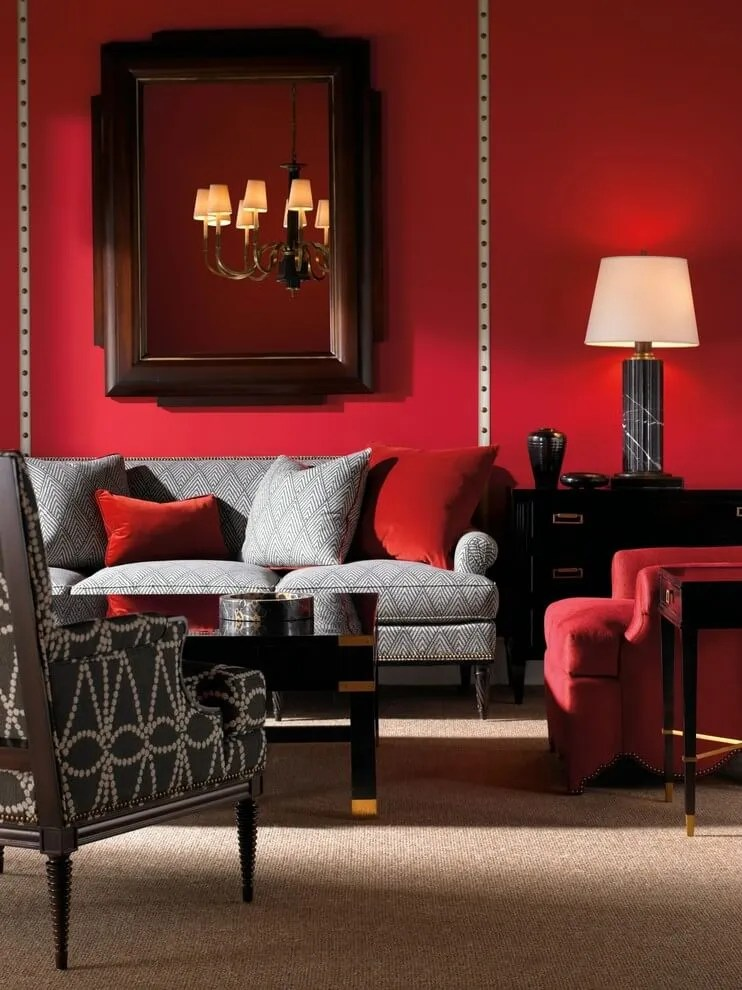 Best 11 marvelous red living room design ideas https for Red living room ideas pictures