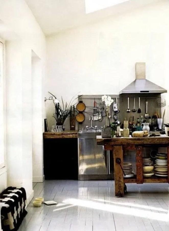 Amazing Scandinavian Rustic Kitchen
