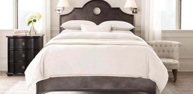 Antique Flair Bed Design
