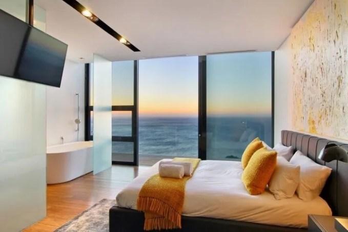 Cool Bedroom With Ocean View