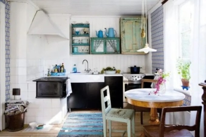 12 Rustic Scandinavian Kitchen Design Ideas
