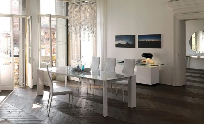 Stylish-Brera-Dining-Table-in-White