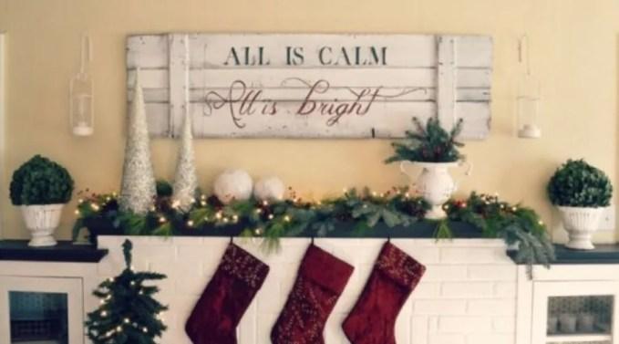 Charming Christmas Sign