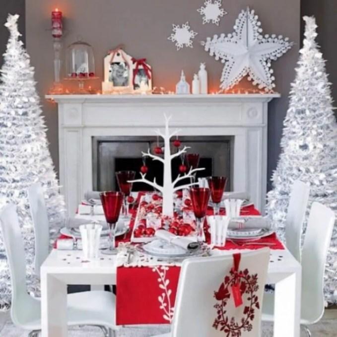Crafty Christmas Fireplace Mantel