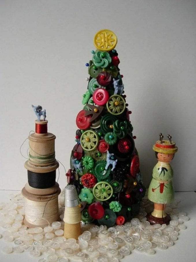 Crafty Tabletop Christmas Tree