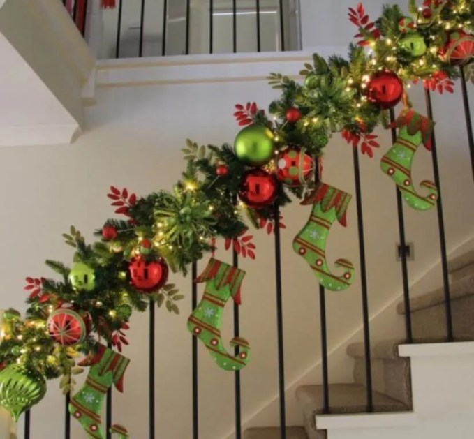 Festive Christmas Garland
