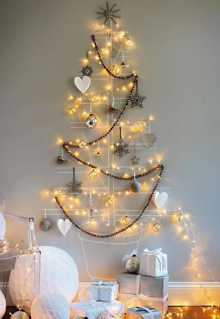 Wall Christmas Trees 8 Unique And One Of A Kind Christmas Tree Ideas Https